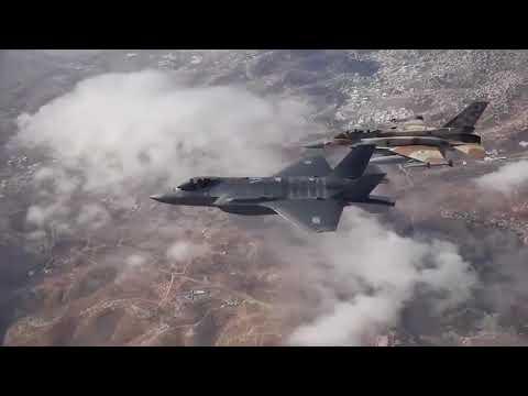 BREAKING Israel NEWS ISRAEL STRIKES IRANIAN TARGETS IN SYRIA F16 shot down February 10 2018