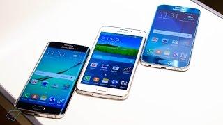 ▶ Samsung Galaxy S6 vs. S6 Edge vs. Galaxy S5 - Vergleich