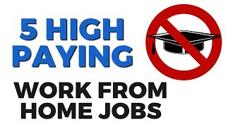 high-paying work-from-home jobs now hiring! | work-at-home jobs february 2020