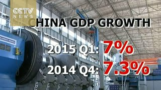 China's economic growth slows to 7% in Q1, six-year low