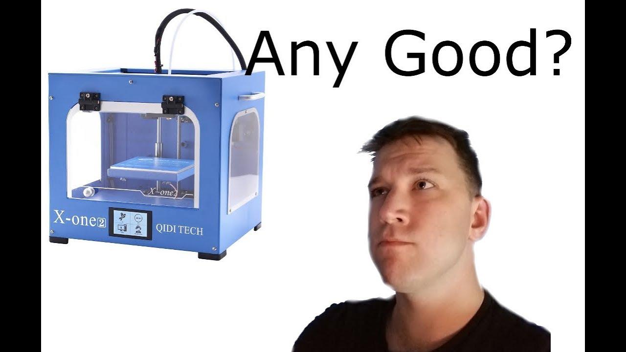 video Qidi Tech X-One 2 3D Printer