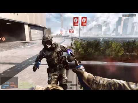 Battlefield 4™ chute de la tour de siège de Shanghai avec un extra barbecue sur notre ami Wiww_00 ;)