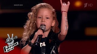 "Ksenia Shaplyko. ""Districts"" - Blind auditions - The Voice Kids Russia - Season 7"