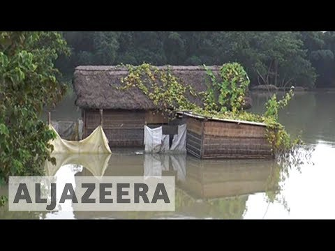 Floods in northeast India kill at least 44