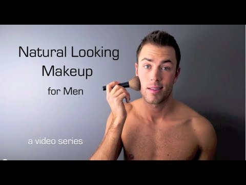 natural looking makeup for men introduction  youtube