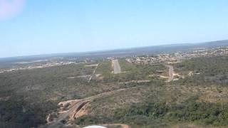 Landing at Bom Jesus/Piauí