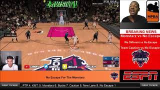 COMPCENTER: Monstarz vs No Escape MPBA PLAYOFFS BREAKING NEWS NBA 2k Comp Games