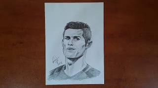 Drawing Cristiano Ronaldo (sketch)