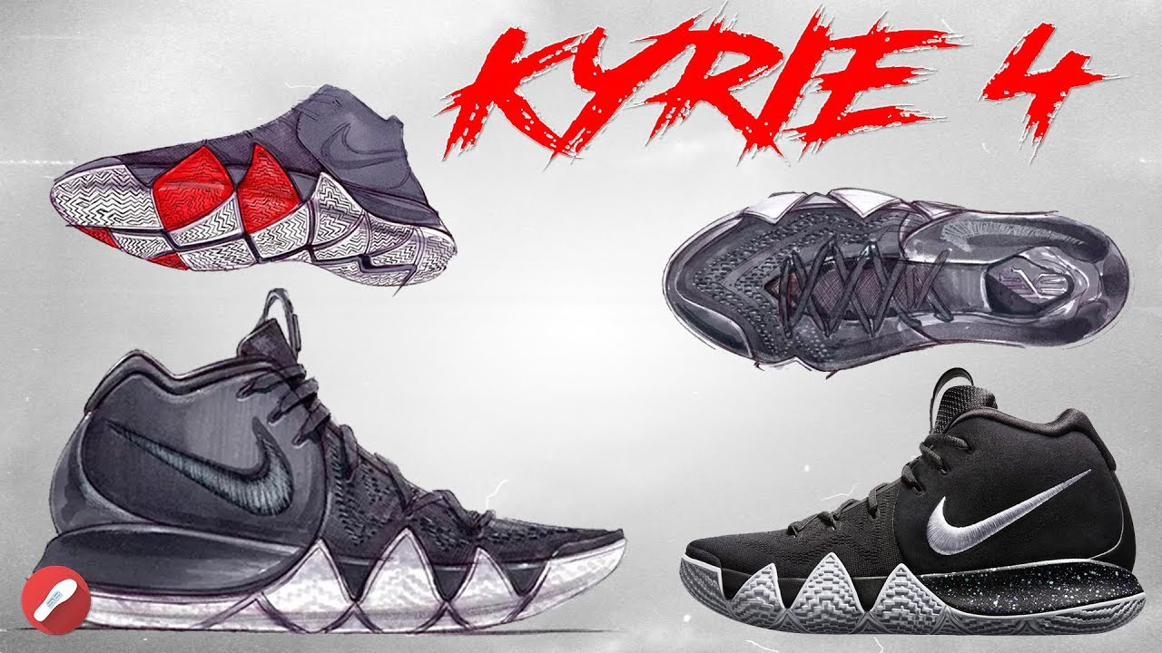 Nike Kyrie 4! A Look at the Design +