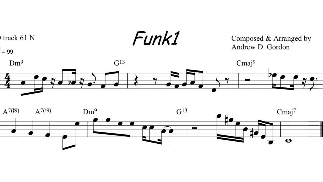Easy Pentatonic Lick for Saxophone - YouTube
