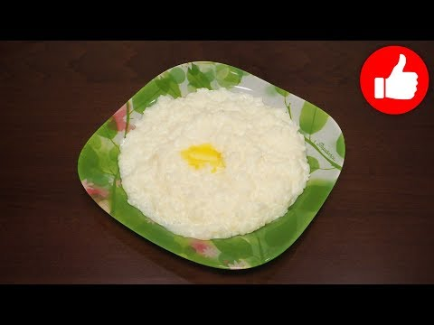 Каша в мультиварке рисовая bork