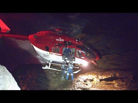 Man saved in dramatic Ambulance helicopter rescue in Bronte
