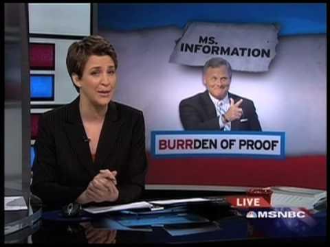 Rachel Maddow Responds To Senator Richard Burr (HQ)