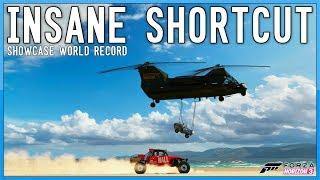 INSANE SHORTCUT - First Showcase World Record - Forza Horizon 3