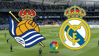 ... real madrid compete against sociedad with both teams aiming for the victory!live from...