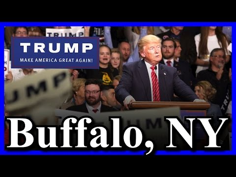 LIVE Donald Trump Buffalo New York Rally 35000 HUGE MASSIVE CROWD RECORD Niagara FULL STREAM