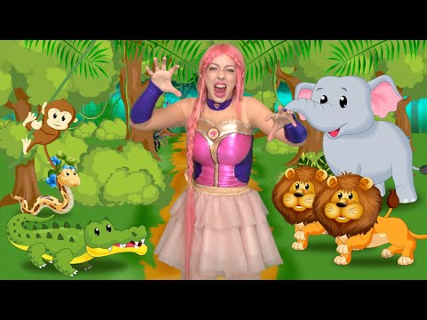 Luli Pampín - CAMINO POR LA SELVA🙊🐍🦁🐘 - Official Video