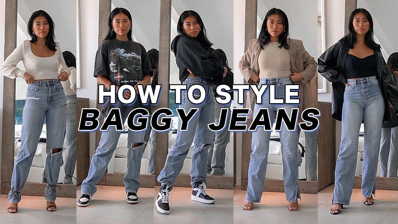 Baggy pants wearing girls Hippie Girl