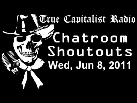 Chatroom Shoutouts - Wed, Jun 8, 2011