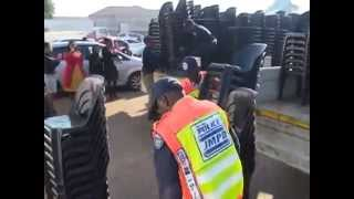 JMPD returning chairs they stole with hundreds of chairs missing - Part2