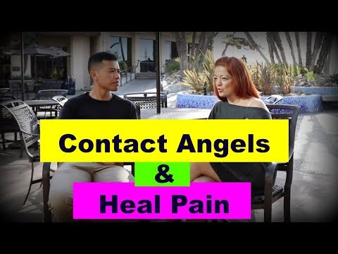 "How to Contact Angels and Heal Physical Pain? | Meet the ""Healer"" 