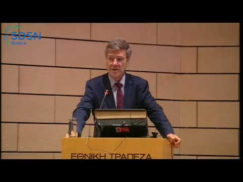 "Jeff Sachs on ""Promoting SD research and teaching at Greek universities"""