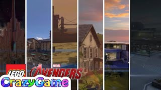 #LEGO MARVEL's Avengers All Hub Area Complete Game Walkthrough 6 Hour