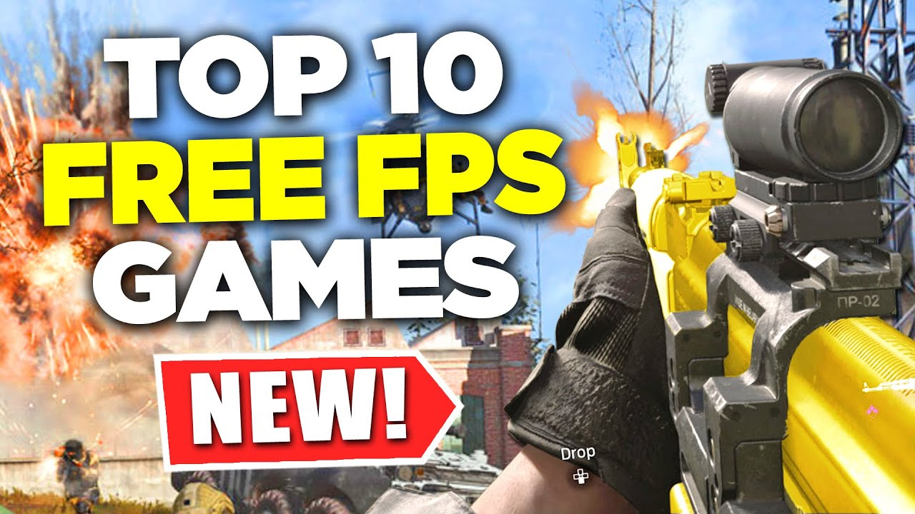 Top 10 New Free Fps Games Of 2020 Youtube