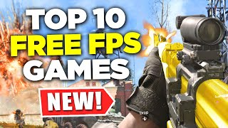 TOP 10 NEW Free FPS Games of 2020
