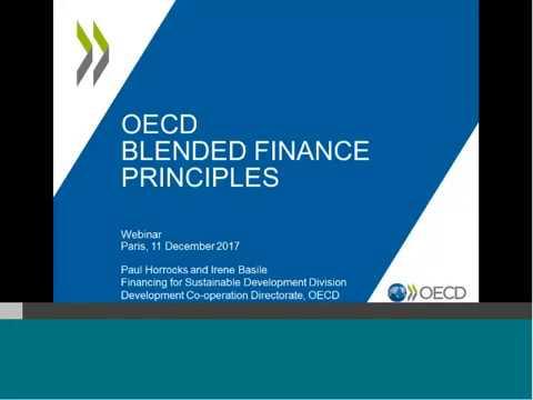 OECD Blended Finance Principles Webinar
