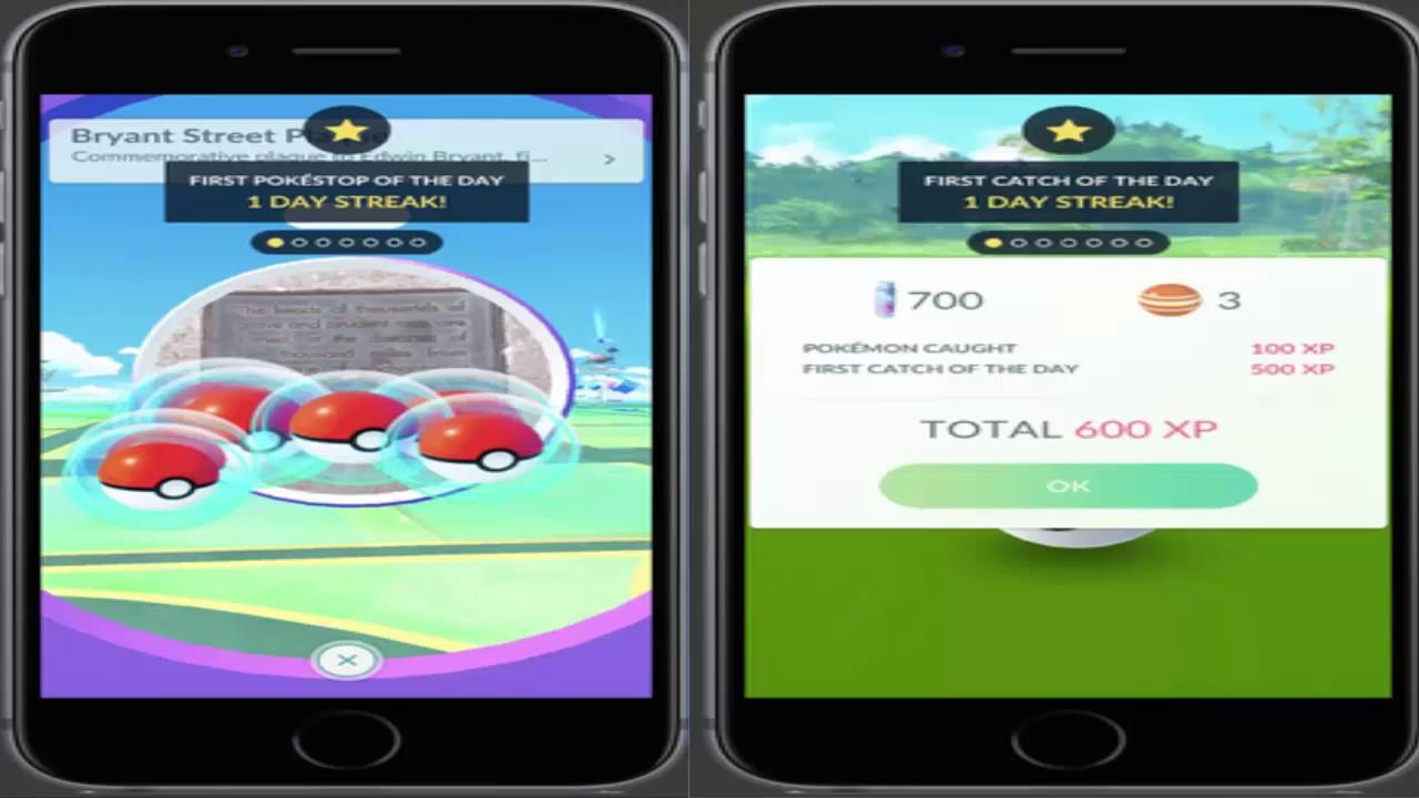 Daily Bonus Pokemon Go