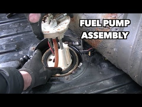 1997 Land rover fuel pump Install.