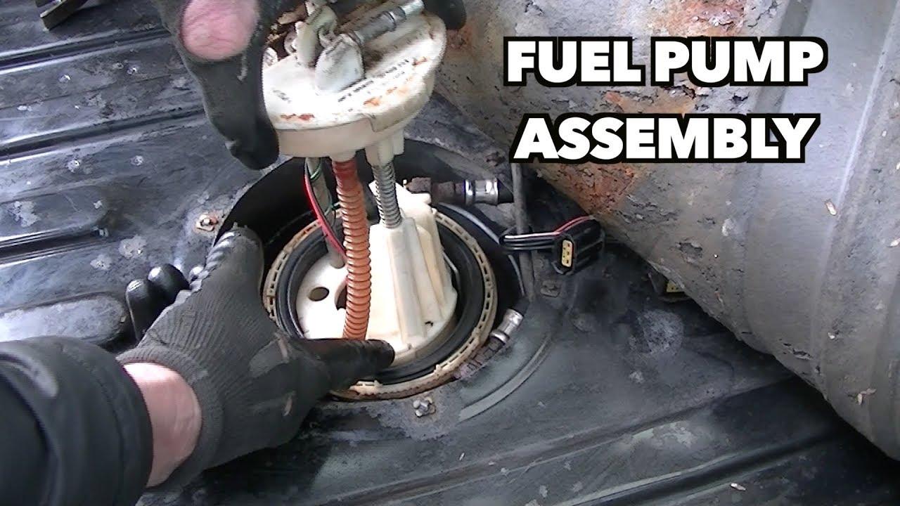1997 land rover fuel pump install  [ 1280 x 720 Pixel ]