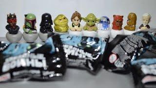 Коллекция фигурок персонажей Звездных войн из Магнита!