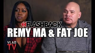 Flashback: Remy Ma on How She Got Her Face Cut, Fat Joe on Getting Shot & Stabbed