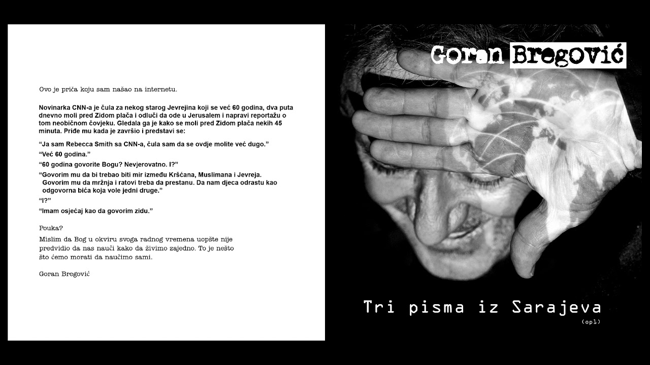 Goran Bregović ft  Rachid Taha - S O S  - new album