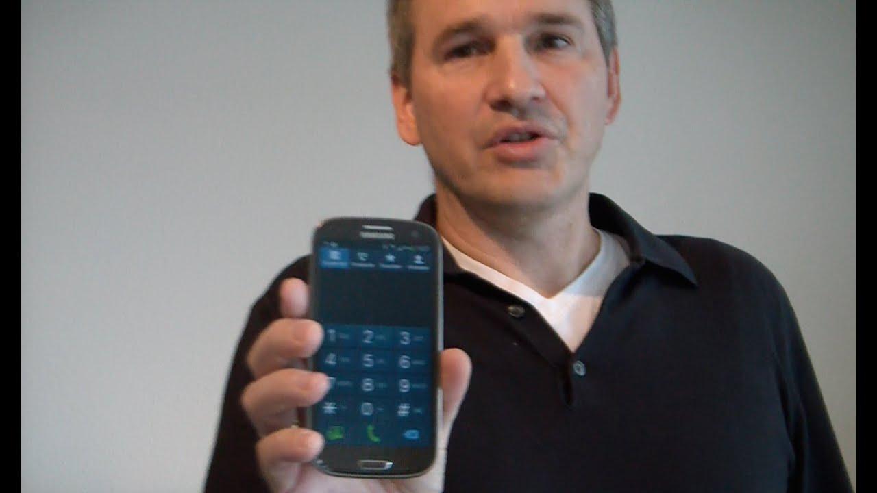 Beschleunigungssensor Handy