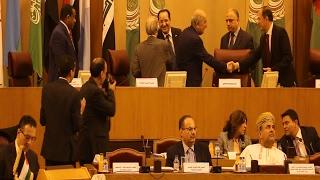 بالفيديو : لحظة تسليم الجزائر رئاسة الدورة