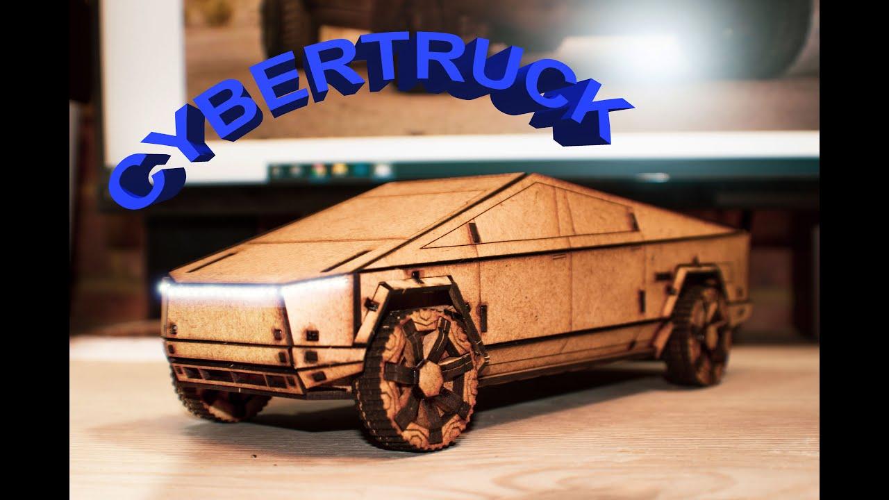 I Made My Own Tesla Cybertruck - YouTube