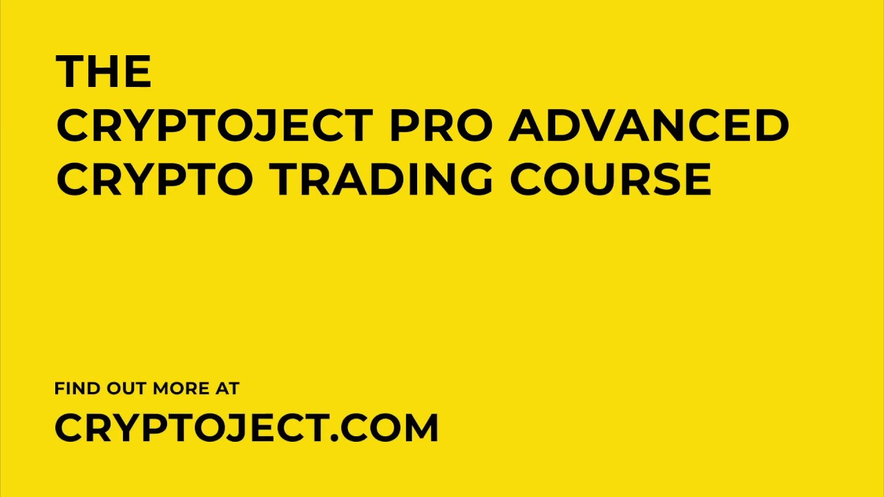 advanced cryptocurrency trading course