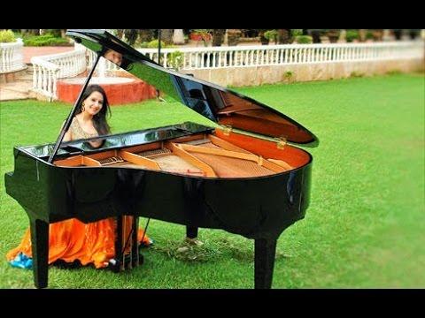 Big Fat Indian Destination Wedding Instrumental Music Grand Piano Female Artist