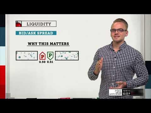Bid-Ask Spread   Options Trading Concepts