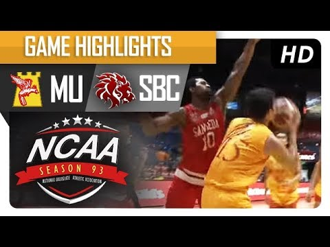 Cardinals vs. Red Lions | NCAA 93 | MB Game Highlights | August 11, 2017