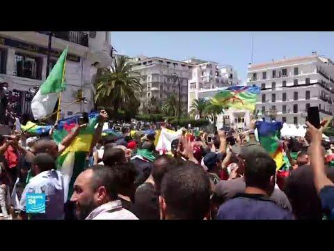 الجزائر: 12 شهرا سجنا لمتظاهرين رفعوا الراية الأمازيغية في الحراك  - نشر قبل 6 ساعة