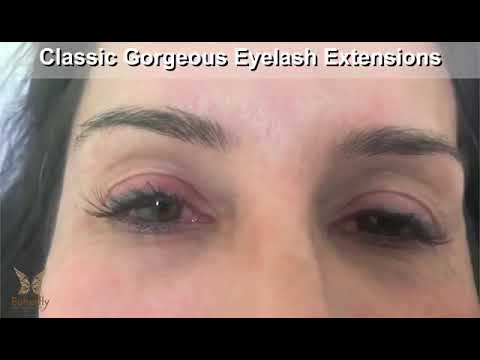 a37249c1d30 The lady got classic eyelash extension refill :) - YouTube