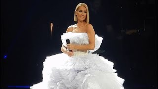 Céline Dion - Happy Xmas (War Is Over) Live In Boston 2019 Courage World Tour