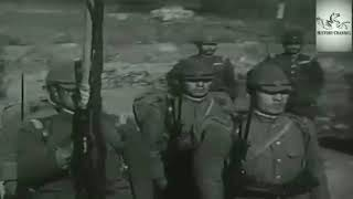 Japanese army march in Nanking (Nanjing marching formula)