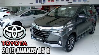 All-New 2019 Toyota Avanza 1.5G AT (Gray Metallic ) Walkaround Review - Philippines