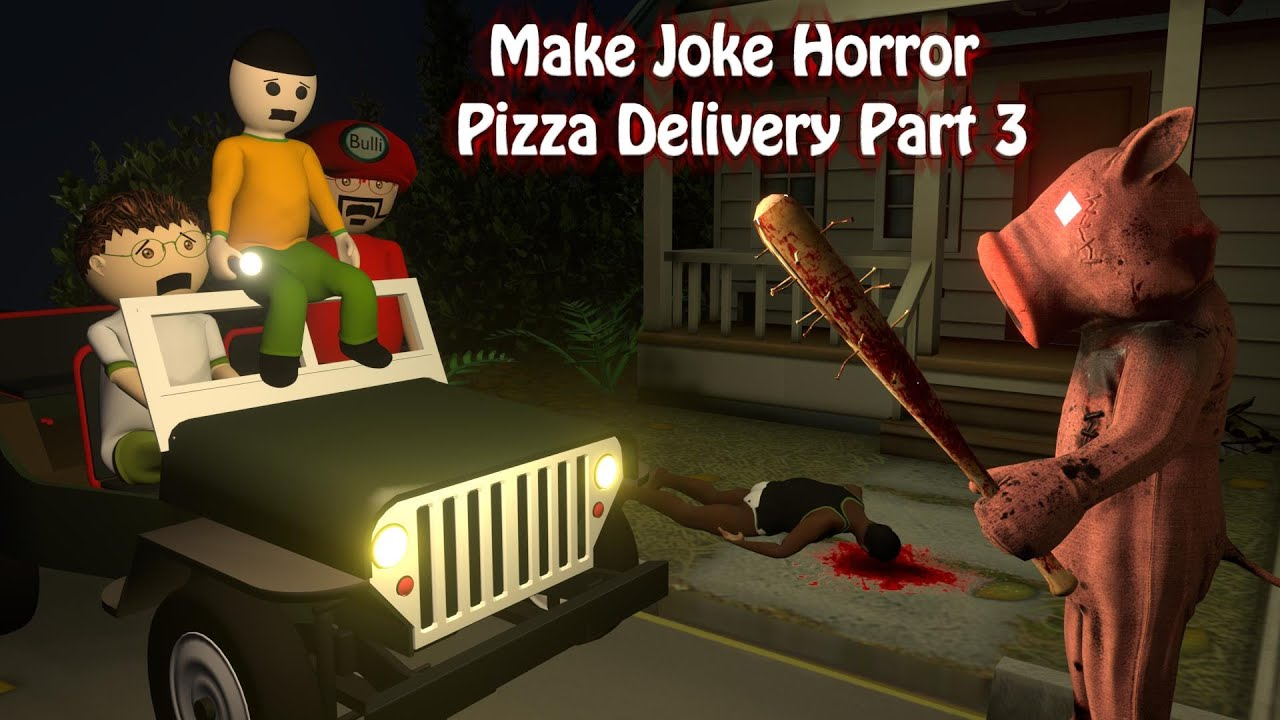Pizza Delivery Or Khooni Pig Part 3 | Pizza delivery Horror Story Part 3 | Food Delivery | online