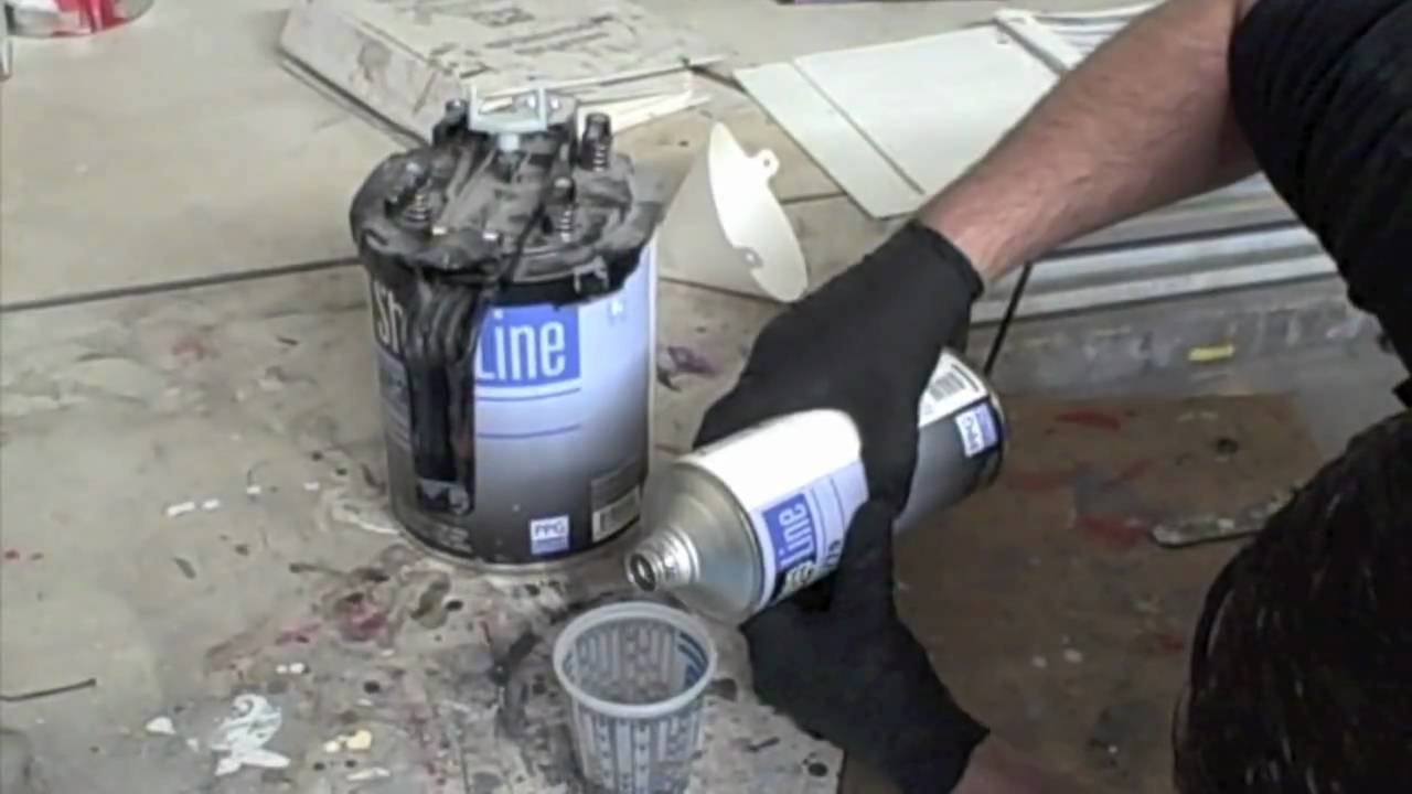 How To Mix Epoxy Primer in HD - YouTube